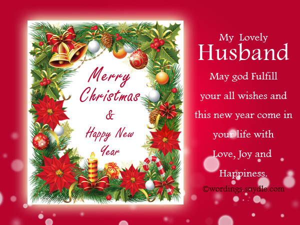 Christmas messages for husband wordings and messages romantic christmas messages for husband wishes to husbands m4hsunfo