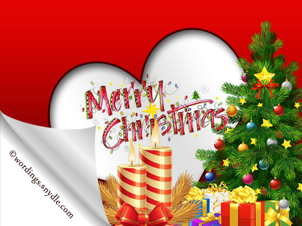 Romantic Christmas greetings for your Wife