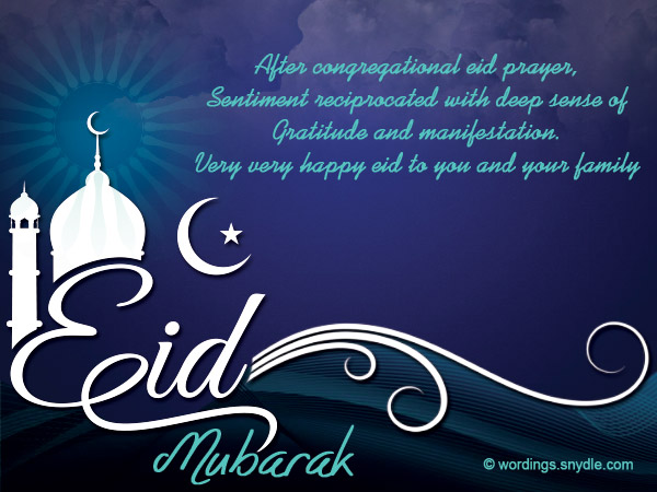 Eid mubarak messages wordings and messages eid mubarak messages in english m4hsunfo