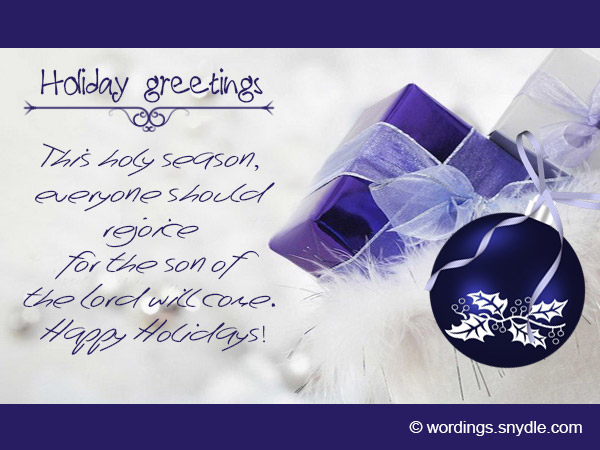Happy holiday greetings messages and wishes wordings and messages holiday greetings cards m4hsunfo