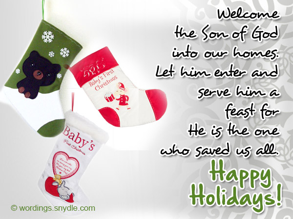 joyful holiday wishing cards