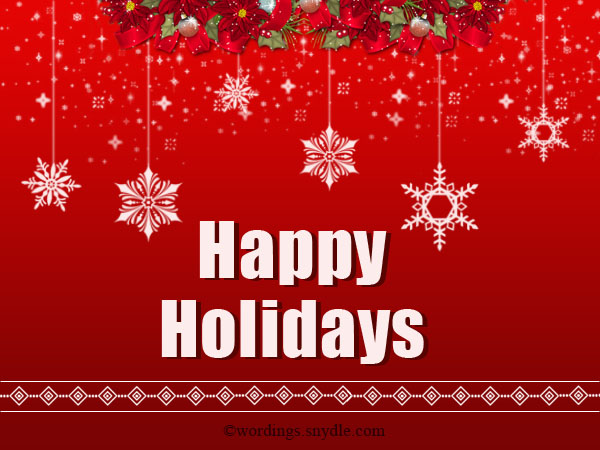 Happy holiday greetings messages and wishes wordings and messages wishing happy holiday cards m4hsunfo