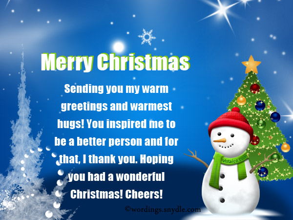 Inspirational christmas messages saying wordings and messages inspirational christmas messages saying m4hsunfo