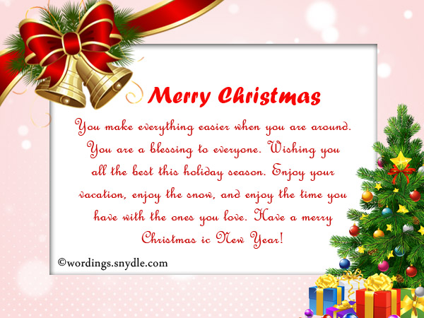 Inspirational Christmas Messages, Quotes and Greetings - Wordings ...