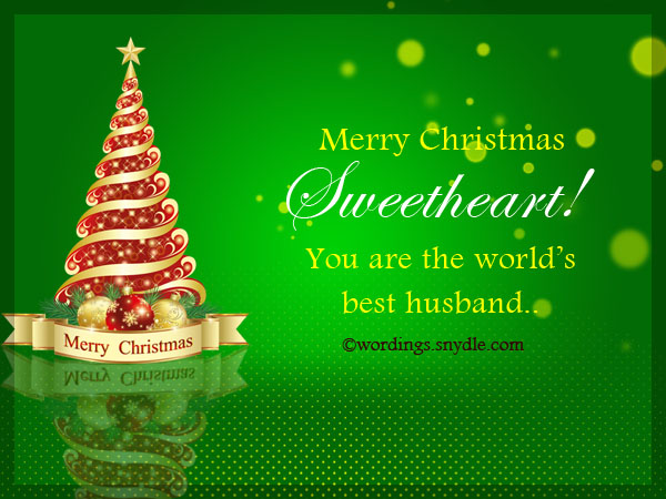 Christmas messages for husband wordings and messages merry christmas cards for husband m4hsunfo