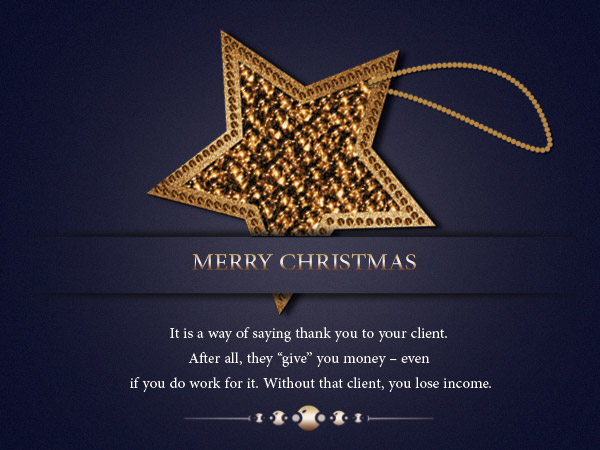 Christmas Wishes For Client