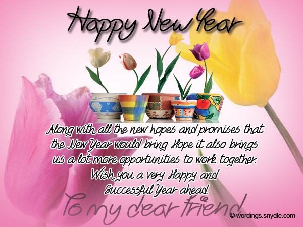 New year messages for friends wordings and messages new year greetings for friends m4hsunfo