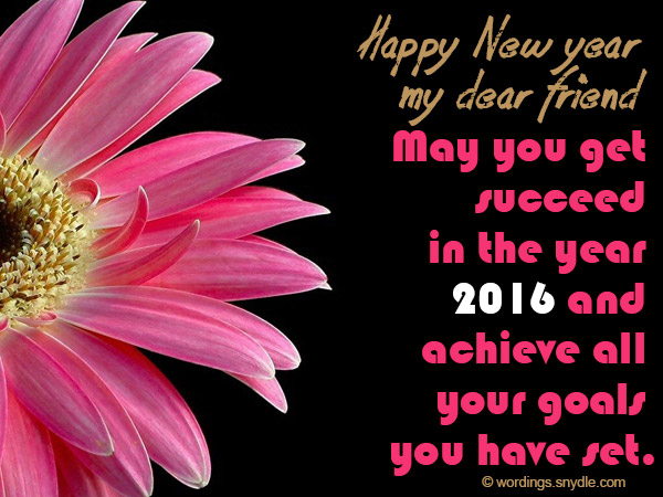New year messages for friends wordings and messages new year wishes for friends m4hsunfo