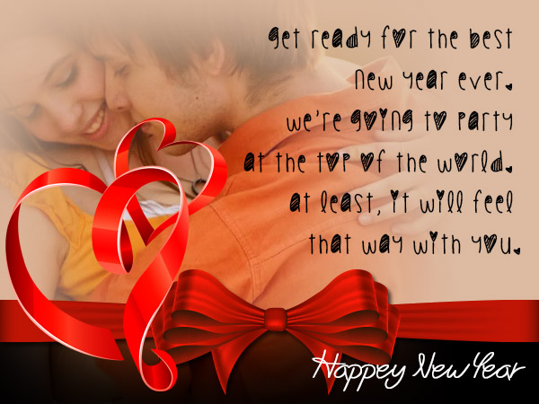 Romantic new year messages wordings and messages romantic new year greetings m4hsunfo
