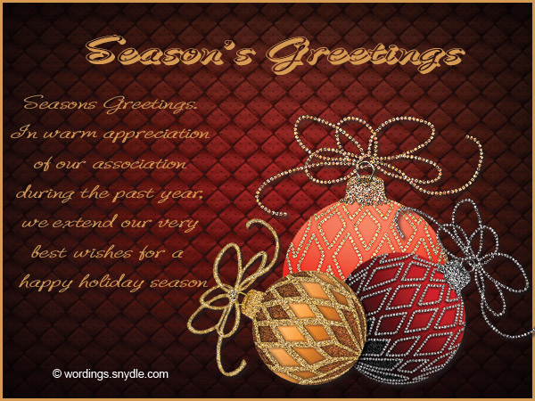 Seasons greetings messages wishes and quotes wordings and messages seasons greetings card m4hsunfo