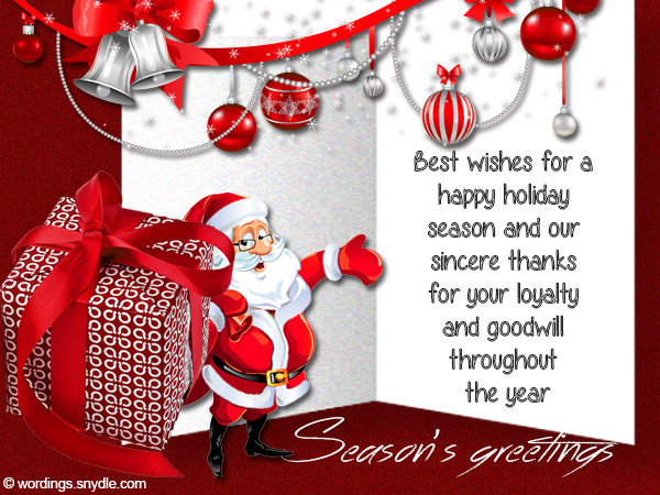 Seasons Greetings Sayings