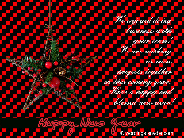 Business new year messages wordings and messages business new year 02 m4hsunfo