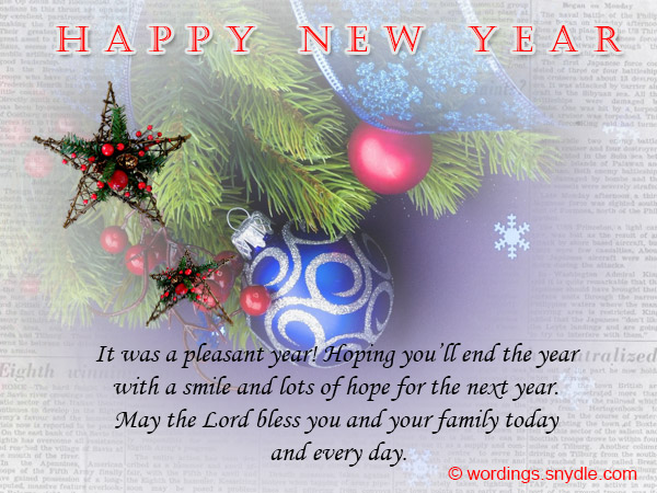 Business New Year Messages – Wordings and Messages