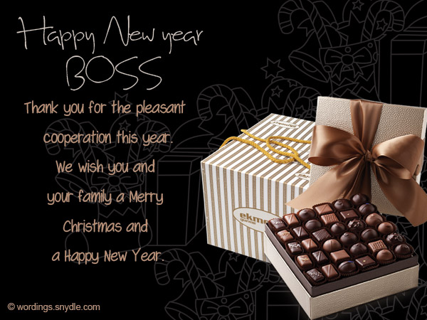 Happy new year messages for boss wordings and messages new year card messages for boss m4hsunfo