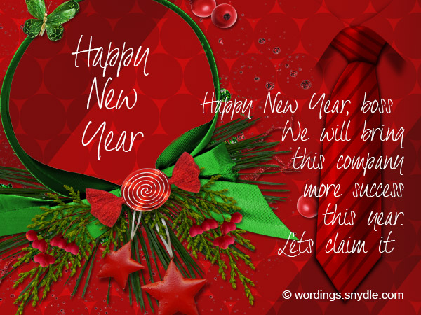 Happy new year messages for boss wordings and messages new year messages greetings for boss m4hsunfo
