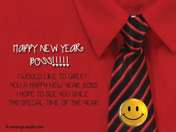 Happy new year messages for boss wordings and messages new year greetings for boss spiritdancerdesigns Images