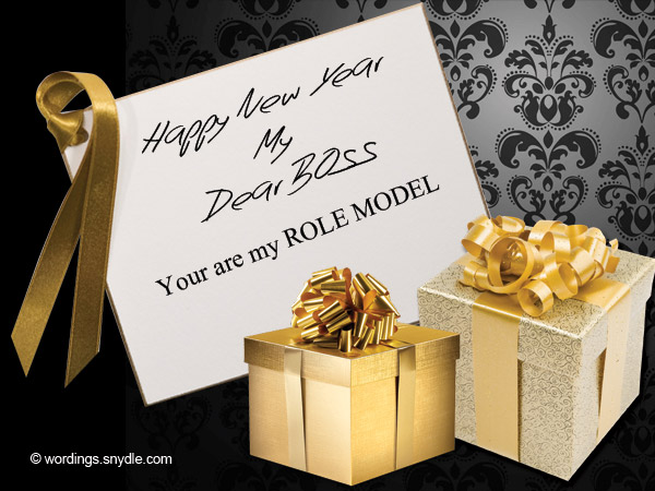 Happy New Year Messages for Boss - Wordings and Messages