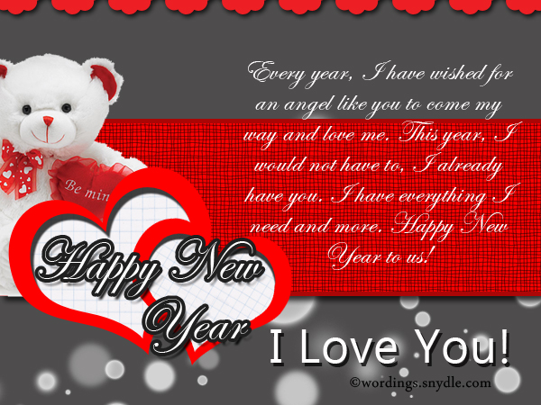 Romantic new year messages wordings and messages romantic new year messages m4hsunfo