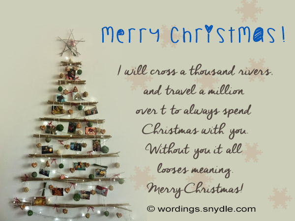 Christmas Greeting Card Verses