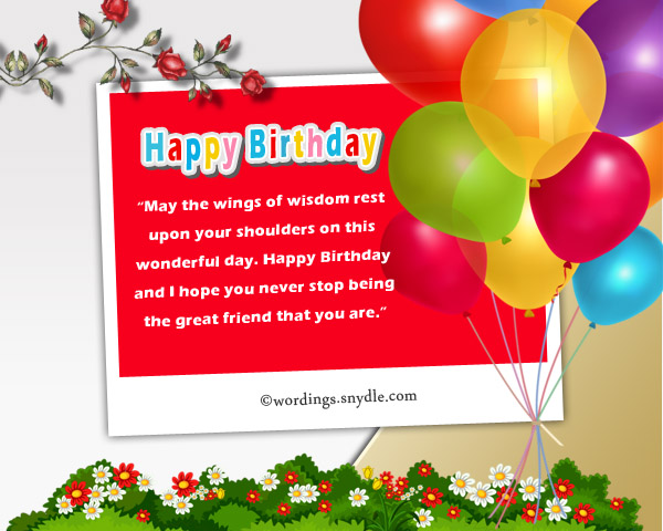 Birthday Messages for Friends on Facebook