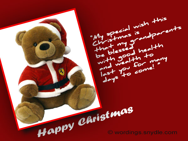 grandma and grandpa christmas wishes