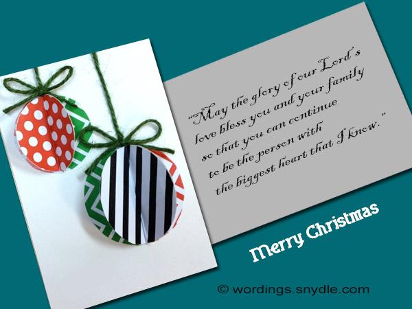 christmas card verses poems