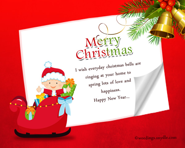 christmas card greetings for friends