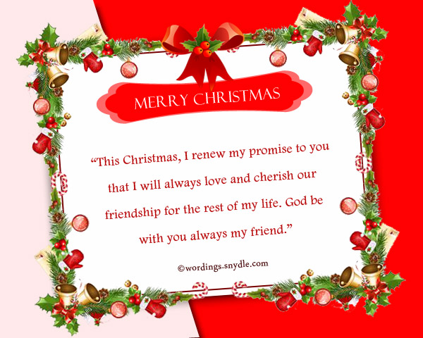 christmas greetings for fb friends