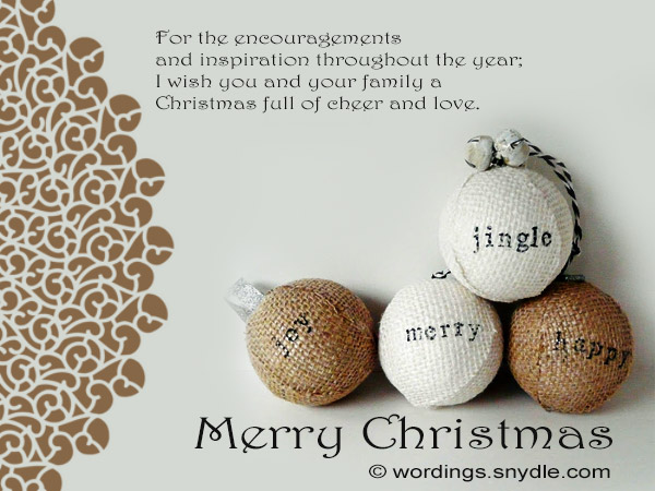 Christmas greetings for boss wordings and messages merry christmas cards to boss m4hsunfo