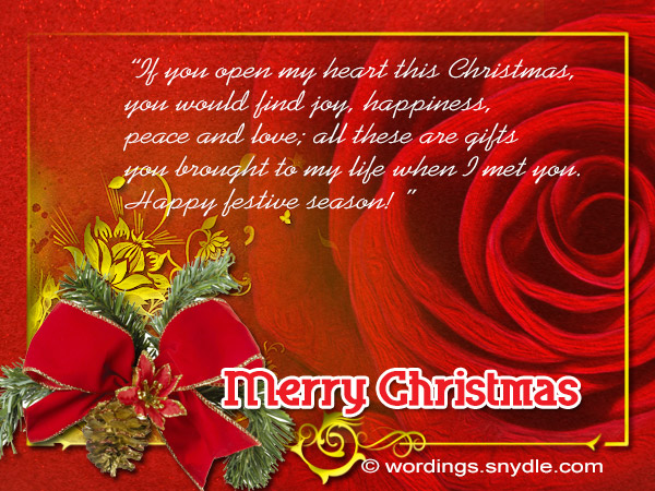 christmas greetings to someone special