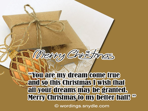 Christmas messages for special someone wordings and messages christmas cards for someone special m4hsunfo Gallery