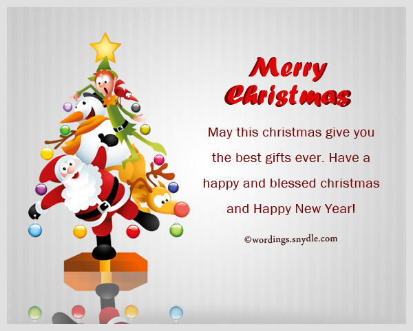 blessed christmas and new year wishes