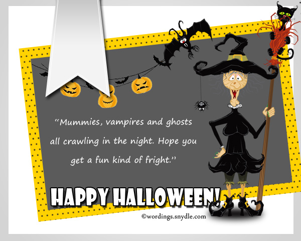 Funny Halloween Greetings Messages. U201c