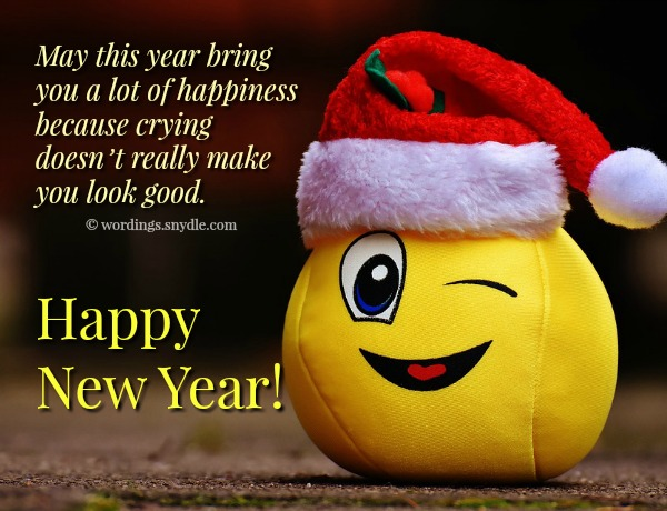 Funny New Year Messages, Greetings and Wishes – Wordings and Messages
