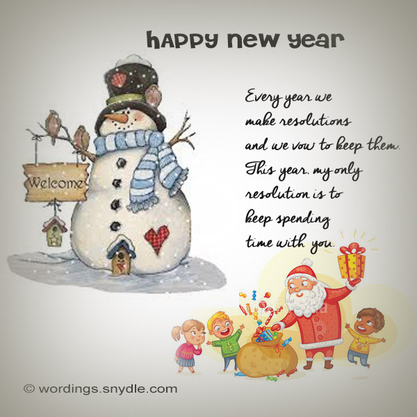 Funny New Year Messages, Greetings and Wishes - Wordings and Messages