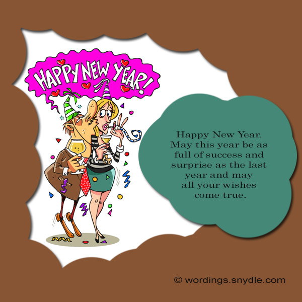 funny new year messages greetings and wishes wordings and messages