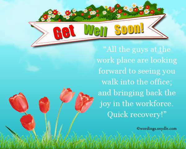 Get Well Soon Messages For Boss Co Workers And Colleagues on Short Funny Quotes