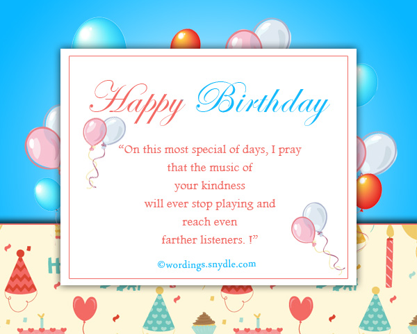 birthday greetings for your facebook friends