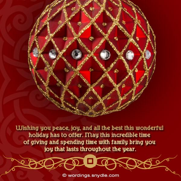 peaceful and joyful christmas wishes
