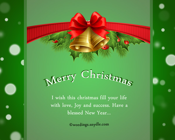 merry christmas wordings for relatives