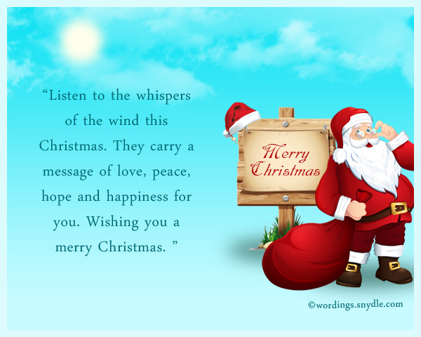 What to write in a christmas card wordings and messages christmas wishes m4hsunfo