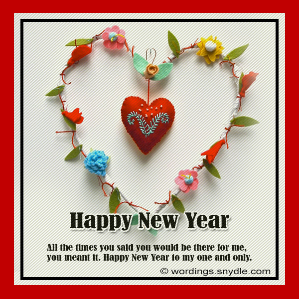 Romantic new year messages wordings and messages new year love cards m4hsunfo