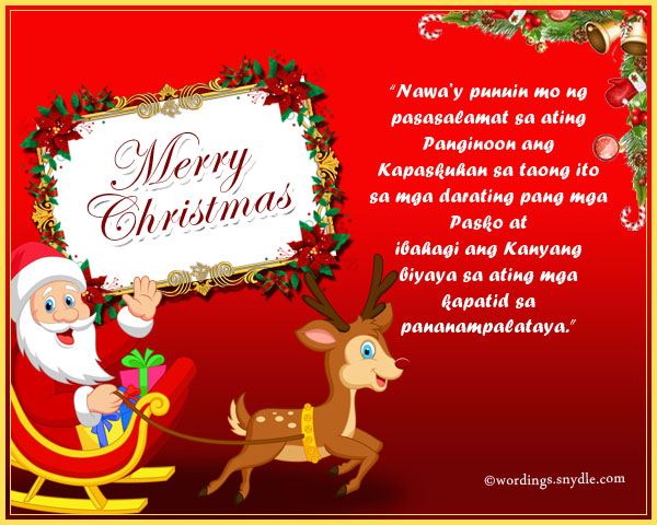 Tagalog christmas messages and greetings wordings and messages tagalog christmas messages m4hsunfo
