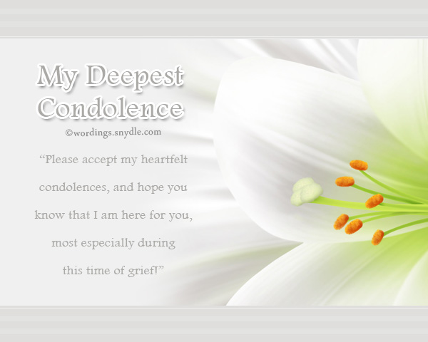 condolence-messages