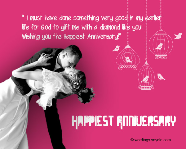 Funny wedding anniversary messages wordings and messages