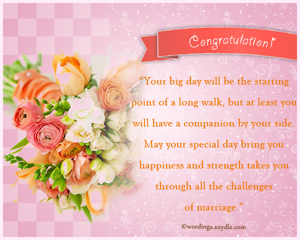 Bridal Shower Messages - Wordings and Messages