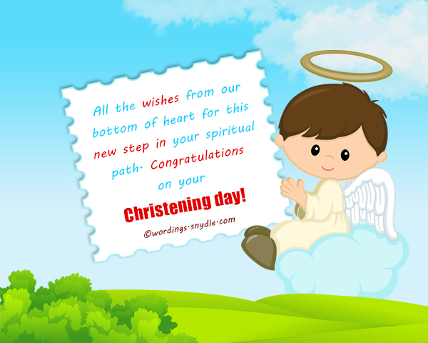 Christening messages wordings and messages let lord jesus our god be the eternal inside you and guiding you through your entire lifey you grow in to a fine young person m4hsunfo