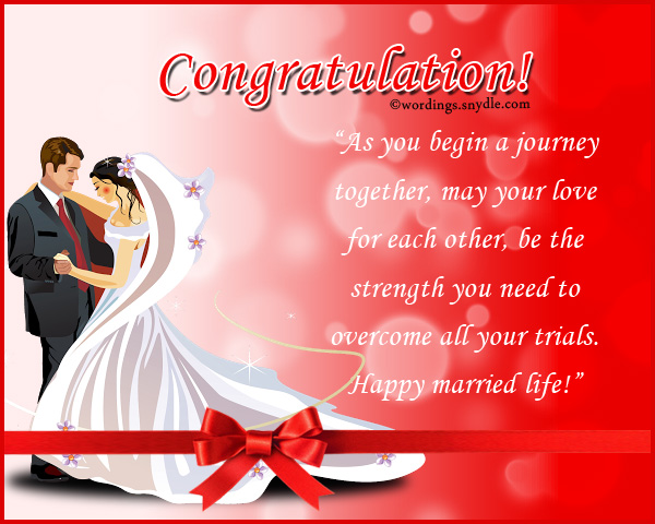 Wedding congratulation messages wordings and messages congratulations on wedding messages m4hsunfo