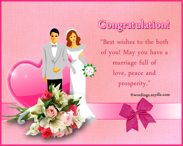 Wedding Congratulation Wishes Messages