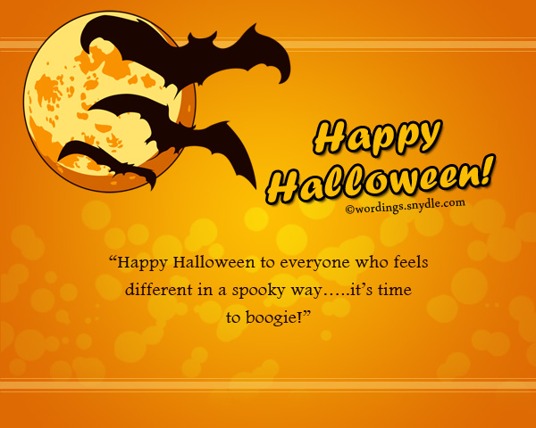 happy halloween greetings wordings and messages